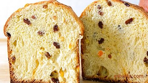 panettone italiano pan dulce de navidad casero