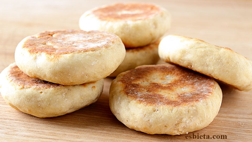 pan hecho en sartén