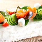 Pastel de salmón sin horno - Fácil y rápido