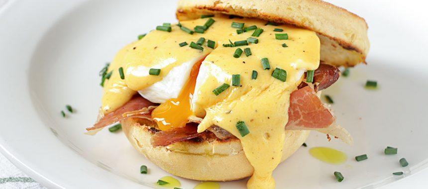 Huevos Benedict caseros