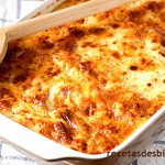 macarrones con queso y chorizo