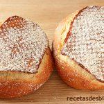 Pan casero de corazones - Miga muy húmeda y esponjosa