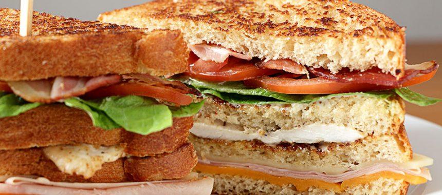 Cómo hacer sándwich club – Receta fácil y rica