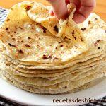 Tortillas de trigo, queso y papa ¡extra tiernas!