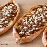 Receta de PIDE (fácil y rica PIZZA turca)