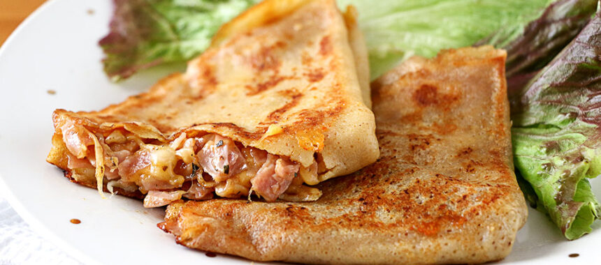 Crepes de jamón y queso – Receta fácil y rápida