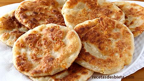 tortillas de trigo queso
