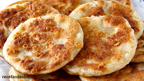 tortillas de trigo queso