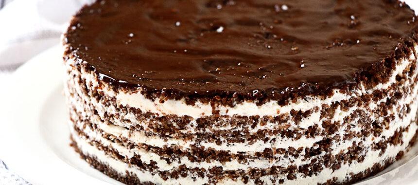 Tarta sin horno deliciosa – Jamás adivinarás de lo que está hecha