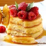 Tortitas de queso para desayuno - ¡Casi como tarta de queso!