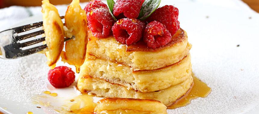 Tortitas de queso para desayuno – ¡Casi como tarta de queso!