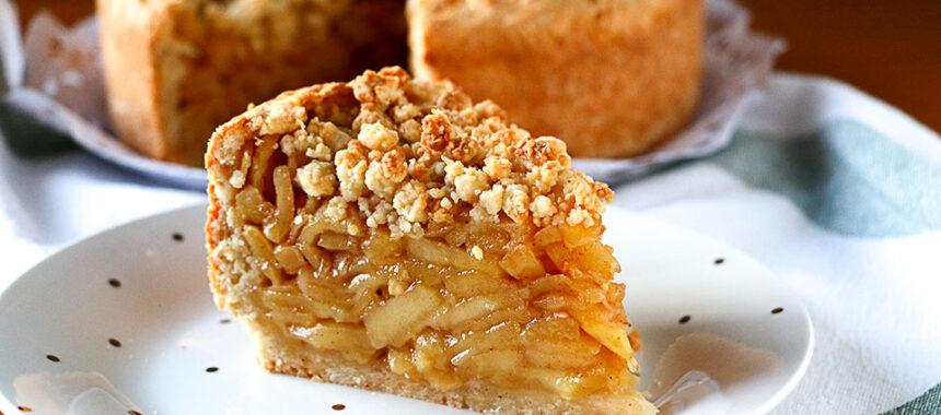 Tarta de manzana de otoño fácil y rápida