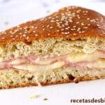Empanada de jamón y queso más fácil y rica del mundo