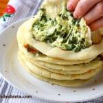 Pupusas - Tortillas de maíz con queso