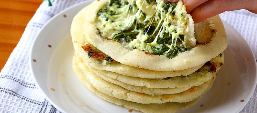 Pupusas – Tortillas de maíz con queso