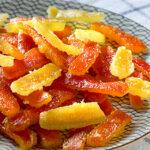 Fruta escarchada en 1 solo día - Receta fácil