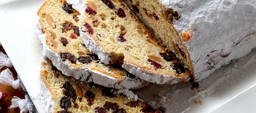 Stollen: pan dulce alemán