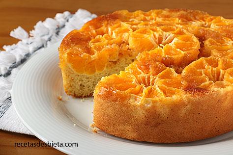 tarta de mandarinas