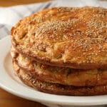 Tortillas de trigo muy ricas. Se hacen sin tocar la masa