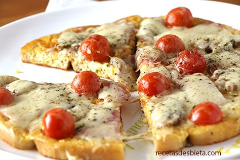 pizza de pan