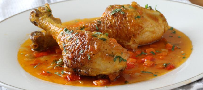 Pollo guisado: la receta más fácil y rica