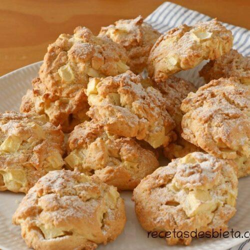 galletas de manzana