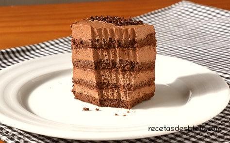 tarta de chocolate sin harina ni mantequilla