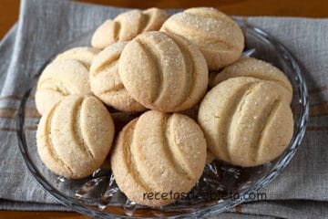 galletas sin mantequilla