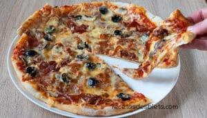 masa pizza con prefermento